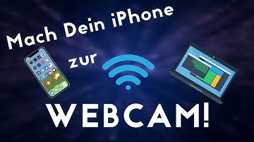 iPhone als Webcam verwenden! (Tutorial)