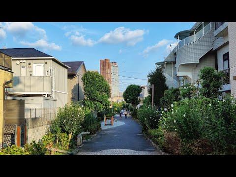 4K Tokyo Walk - Residential Areas near Sangenjaya and Shoin-jinja-mae