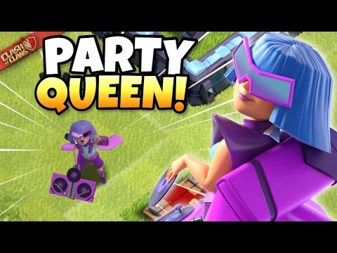 PARTY QUEEN SKIN Review then… DISCONNECT in Quarterfinals from Tompinai Empire?! Clash of Clans