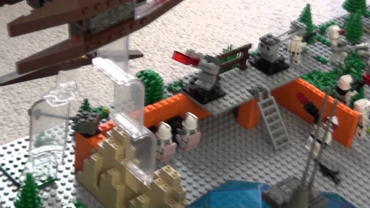 Lego Star Wars Makieta Bitwy O Baze Klonów Youtube