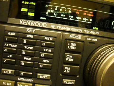Kenwood TS-450S S-meter spiking