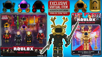 Roblox Toys Codes Gold Celebrity Series News Sneak Peek Youtube Roblox Toys Collectibles All Youtube