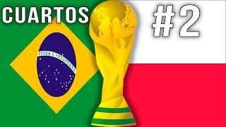 FIFA 18 Cuartos Brasil vs Polonia