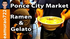 Ponce City Market Tonkotsu Ramen & Gelato (You need to eat this!)