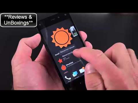 Amazon Fire Phone Unboxing and Review