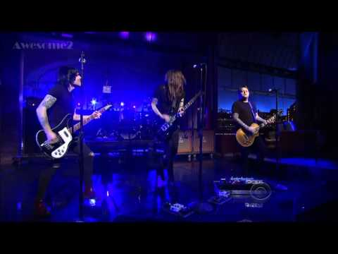 Against Me!   FUCKMYLIFE666,  live on Letterman 1-29-14