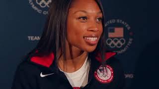 Allyson Felix Interview, U.S. Olympic Gold Medalist