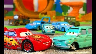 Тачки 3 Мультики про Машинки Молния Маквин и Камень на Трэке Cars 3 Lightning McQueen