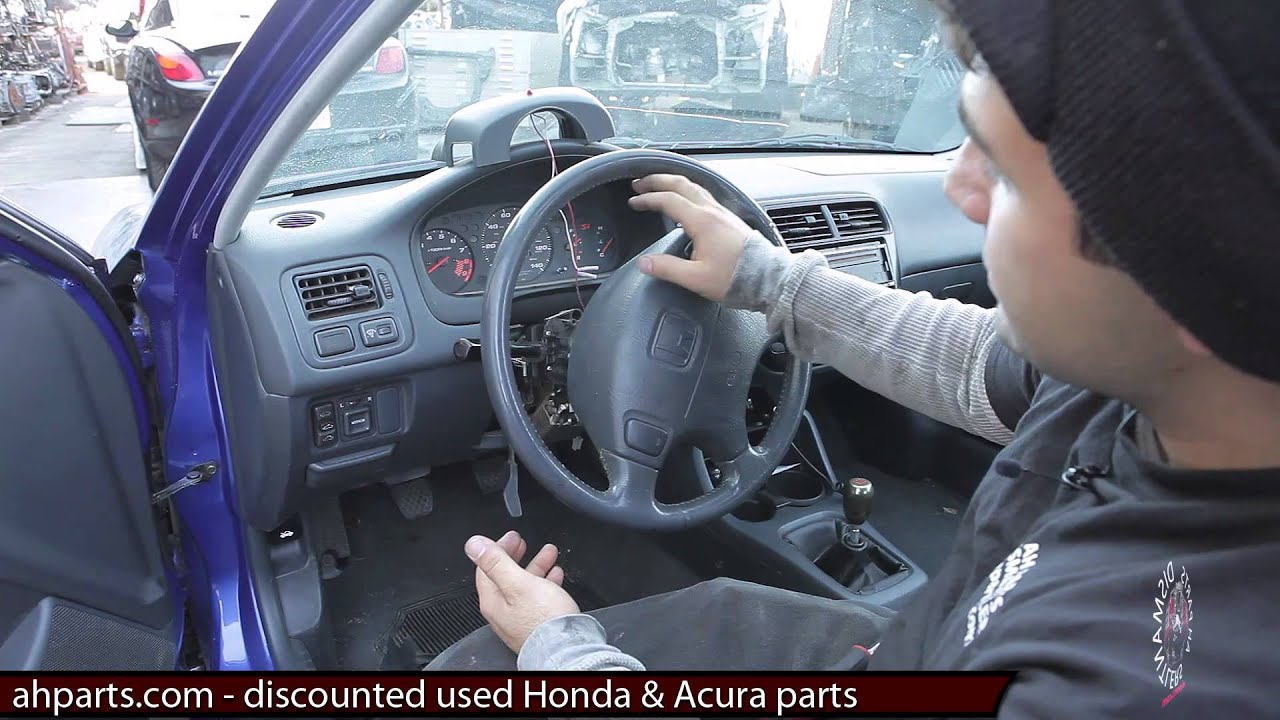 2003 Honda Accord Turn Signal Wiring Diagram How To Change Replace Install Column Head Light Wiper