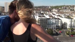 Rosie Brighton Bungee Jump 2015