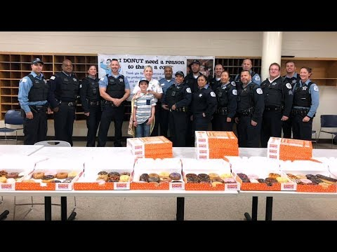 Jessie - 11-Year-Old Boy Delivers Sweet Surprises
