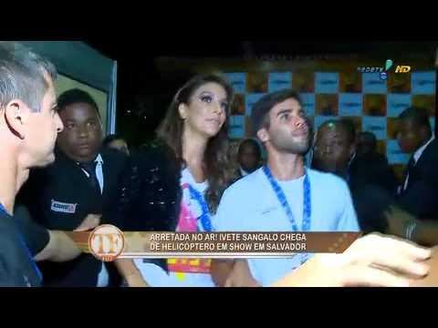 TV Fama: Ivete Revela Que O Marido 'pira' No Seu Corpão