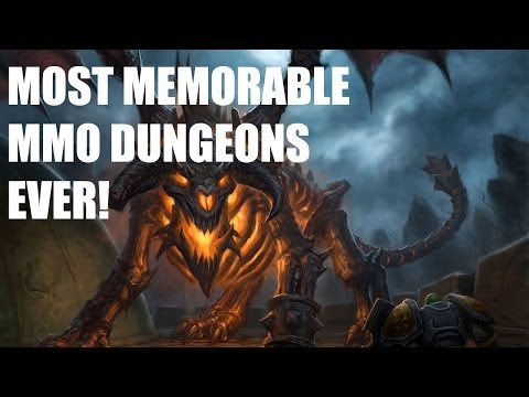 Best MMO Dungeons Of All Time!
