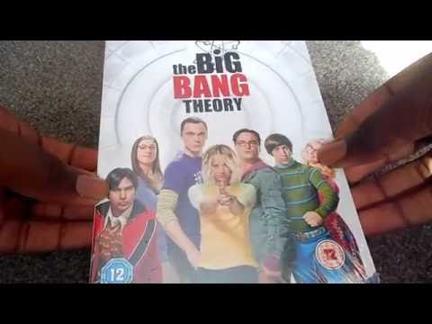 The Big Bang Theory Season 9 (UK) DVD Unboxing