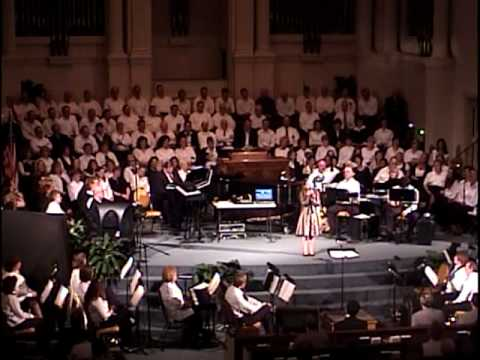 Mallory Ledford, age 11, sings Amazing Grace (for Phil Cross)