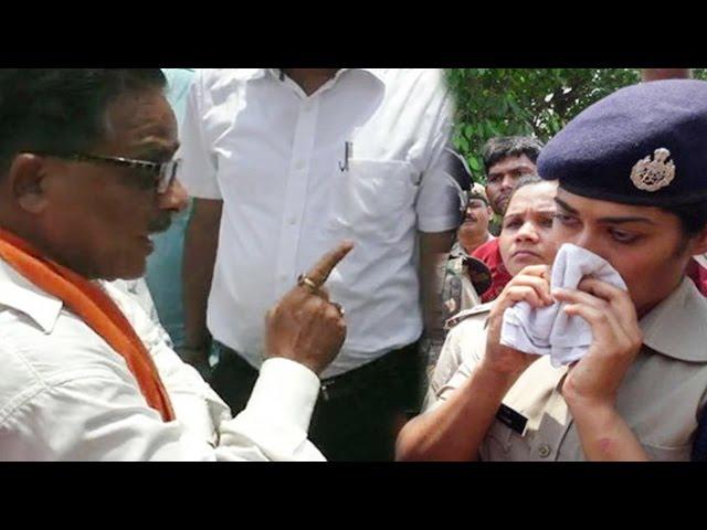 'Don't cross your limits IPS Charu Nigam': UP BJP MLA Radha Mohan Das Agarwal in Gorakhpur