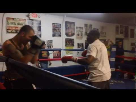 Floyd Mayweather Sr Sucker Punched While...