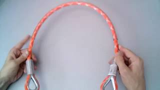 Обзор:  Зацеп - трос в полиамидной оплетке от ПромАльпLife