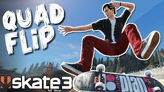 Skate 3: QUAD FLIP CHALLENGE?!