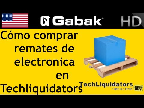Como comprar remates de electronica en Techliquidators.com
