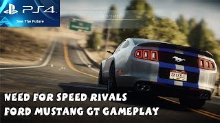 Need for Speed RIVALS PS4 Gameplay 1080P Ford Mustang GT Gameplay