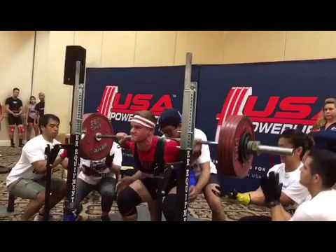 Alex Efird: 2017 cal state games powerlifting meet