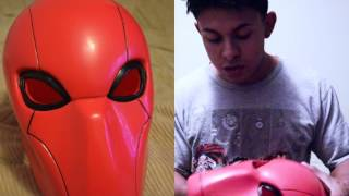 Red Hood Mask Unboxing xcoser