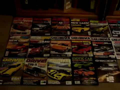 My Car Magazine collection