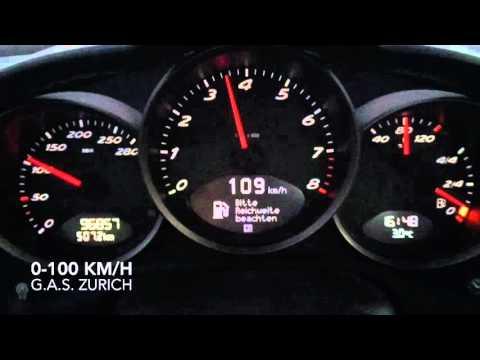 Porsche Cayman 2.7 0-100 km/h acceleration