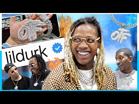 Lil Durk brings OTF to Jewelry Unlimited and pulls out $100,000 CASH to get ICY !