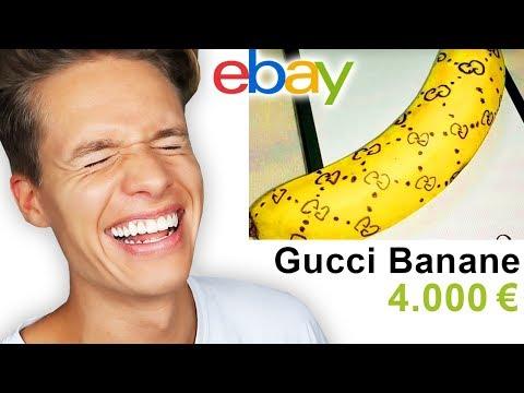 Er verkauft eine GUCCI BANANE bei EBAY
