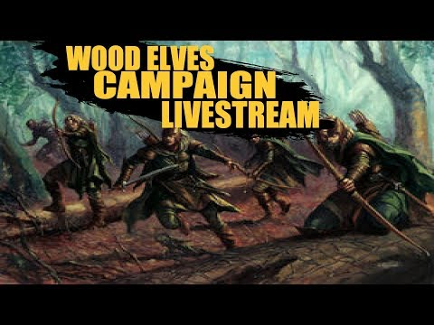 Wood Elves Campaign Livestream
