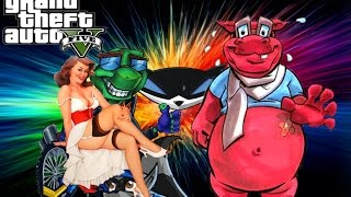 GTA 5 The Legend Of Bro Cooper (Sly cooper Crossover)