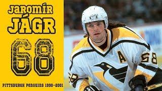 Jaromír Jágr (Celý film) Pittsburgh Penguins 1990–2001