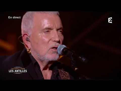 Bernard Lavilliers - L'espoir (Ensemble pour les Antilles - France 2 - mardi 19 septembre 2017)