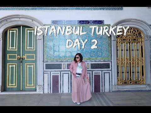 Day 2 Istanbul, Turkey - Hagia Sophia, Blue Mosque, Topkapi Palace, Grand Bazaar