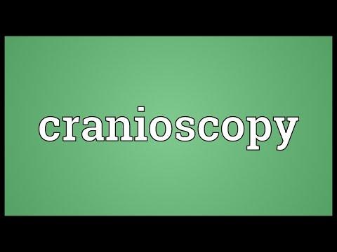 Header of cranioscopy