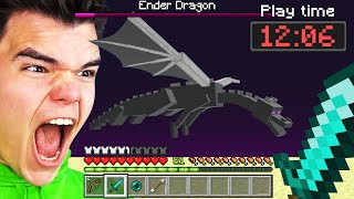 I Attempted The WORLD RECORD Minecraft Speedrun...