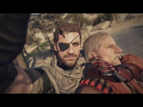 MGO 3 -  Gothic Black II Skills - Road to FoxHound