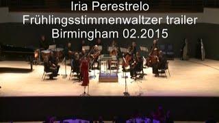 Frühlingsstimmen Walzer trailer, Soprano Iria Perestrelo