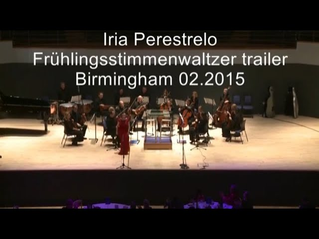 Johann Strauss II: Frühlingsstimmen Walzer - Iria Perestrelo, Soprano