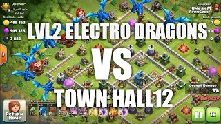 TH11 LVL2 ELECTRO DRAGON ATTACK STRATEGY | OVER POWERFUL | BY GAMESTERS ADDA |