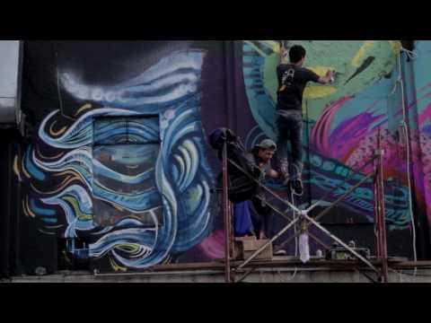 Buskers: Estallan las Calles - La magia del graffiti.