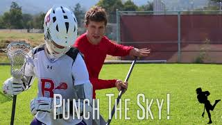 Lacrosse Skool - Kyle Hartzell Teaches The Over The Head Check