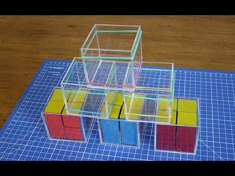 Куб из оргстекла своими руками