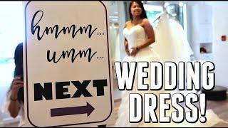 WEDDING DRESS SHOPPING!!! - September 02, 2017 -  ItsJudysLife Vlogs