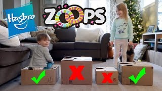 Don't Choose The Wrong MYSTERY BOX SCAVENGER HUNT Challenge! ZOOPS By Hasbro INSIDE!