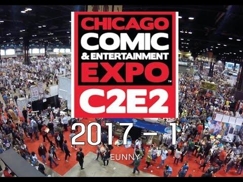 C2E2 2017 - Sketch 1- Comic & Entertainment EXPO in Chicago