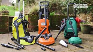 aldi pressure washer instructions