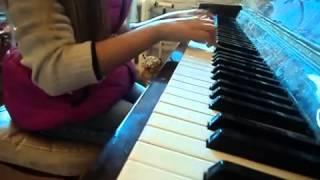 Музыкальная школа _ старое видео ) Произведения Моцарта